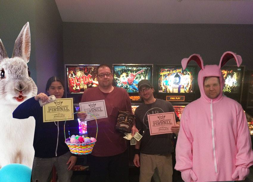 Pinball Tomorrow Night Week 1 Season 2!!! Congrats to last weeks winners. 1st place John Hurd Second Place, Jody Jodon, Third Place Me, 4th Place Ike - Side tournament Winner Jody